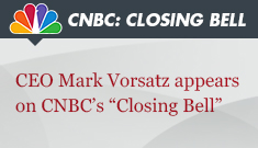 CEO Mark Vorsatz appears on CNBC's