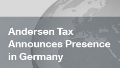 Andersen Tax Established Presence in Germany