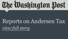 The Washington Post Reports on Andersen Tax